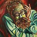 Alan Ginsberg Poet Philosopher by Carole Spandau