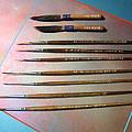 Alan Johnson Signature Brushes  by Alan Johnson