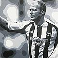 Alan Shearer - Newcastle United Fc by Geo Thomson