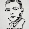 Alan Turing by Ramon Andrade 3dciencia