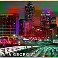 Alanta Georgia Skyline  by Marvin Blaine