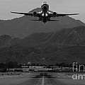 Alaska Airlines Palm Springs Takeoff by John Daly