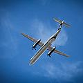 Alaska Airlines Turboprop by Aaron Berg