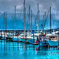 Alaska Boats by Luther Barnett