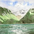 Alaska Kenai Fjords by Laurie Anderson