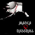 Alaska Loves Baseball by Andee Design