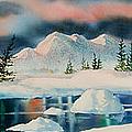 Alaska Panorama by Teresa Ascone