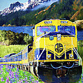 Alaska Railroad by David Wagner