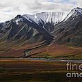 Alaska Range by Ron Sanford