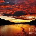 Alaska Sunset by Gene Mark