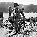 Alaskan Crabs by Underwood Archives