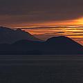 Alaskan Mountain Sunset by Martin Belan