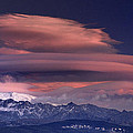 Alayos Mountains At Sunset In Sierra Nevada by Guido Montanes Castillo