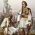 Albanians, 1865 by Amadeo Preziosi
