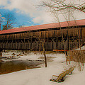 Albany Covered Bridge by Brenda Jacobs
