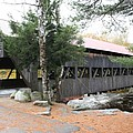Albany Covered Bridge  by Christiane Schulze Art And Photography