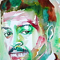 Albert Ayler - Watercolor Portrait by Fabrizio Cassetta