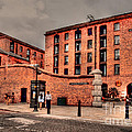 Albert Dock A Different View by Wobblymol Davis
