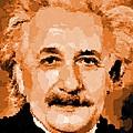 Albert Einstein 01 by Samuel Majcen