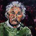 Albert Einstein by Becky Kim