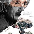 Albert Einstein by Herman Cerrato
