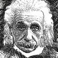 Albert Einstein by Rafael Salazar