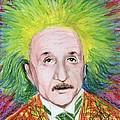 Albert Einstein by Yoshiko Mishina