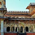 Albert Hall 2 - Jaipur India by Kim Bemis