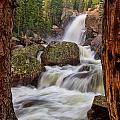 Alberta Falls II by Ronda Kimbrow