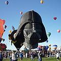 Albuquerque International Balloon Fiesta With Darth by Jennifer Lavigne