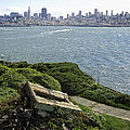 Alcatraz And San Francisco by Daniel Hagerman