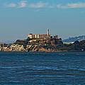 Alcatraz Island In San Francisco Bay by Jit Lim
