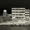 Alcatraz The Rock Sepia 2 by Scott Campbell