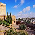 Alcazaba In Granada by Karol Kozlowski