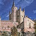 Alcazar Of Segovia by Nigel Fletcher-Jones