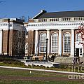 Alderman Library University Of Virginia by Jason O Watson