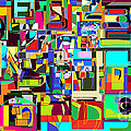 Alef Bais 1c by David Baruch Wolk