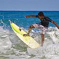 Alex 16 Year Old Pro Surfer by John Lee Montgomery III