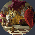 Alexander And His Doctor by Eustache Le Sueur