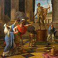 Alexander Consulting The Oracle Of Apollo by Louis-Jean-Francois Lagrenee