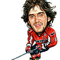Alexander Ovechkin by Art