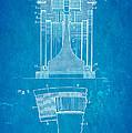 Alexanderson Altenator Patent Art 1911 Blueprint by Ian Monk