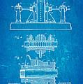 Alexanderson Altenator Patent Art 2 1911 Blueprint by Ian Monk