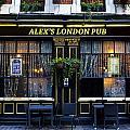 Alex's London Pub by David Pyatt