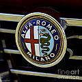 Alfa Romeo Badge by Dean Ferreira