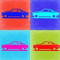 Alfa Romeo Gtv Pop Art 2 by Naxart Studio