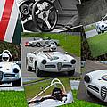 Alfa Romeo Milano Collage by Mike Martin