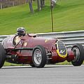Alfa Romeo On Sam Posey Straight by Mike Martin