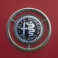1961 Alfa Romeo Giulietta Sprint Veloce Series II Emblem -1045c by Jill Reger