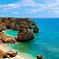 Algarve Beach - Portugal by Amanda Elwell